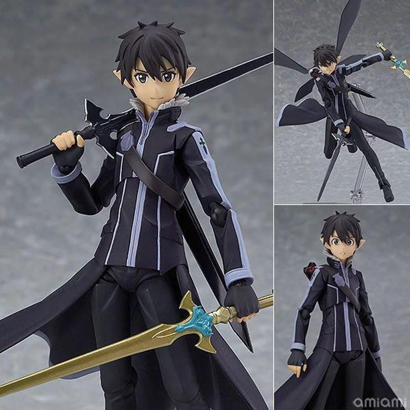 ฟิกเกอร์ Figma 289 Sword Art Online II ALOver . Dance Kirito Figure