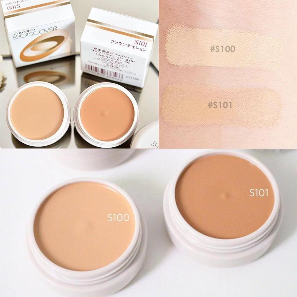 Shiseido Spotscover Foundation 20g.