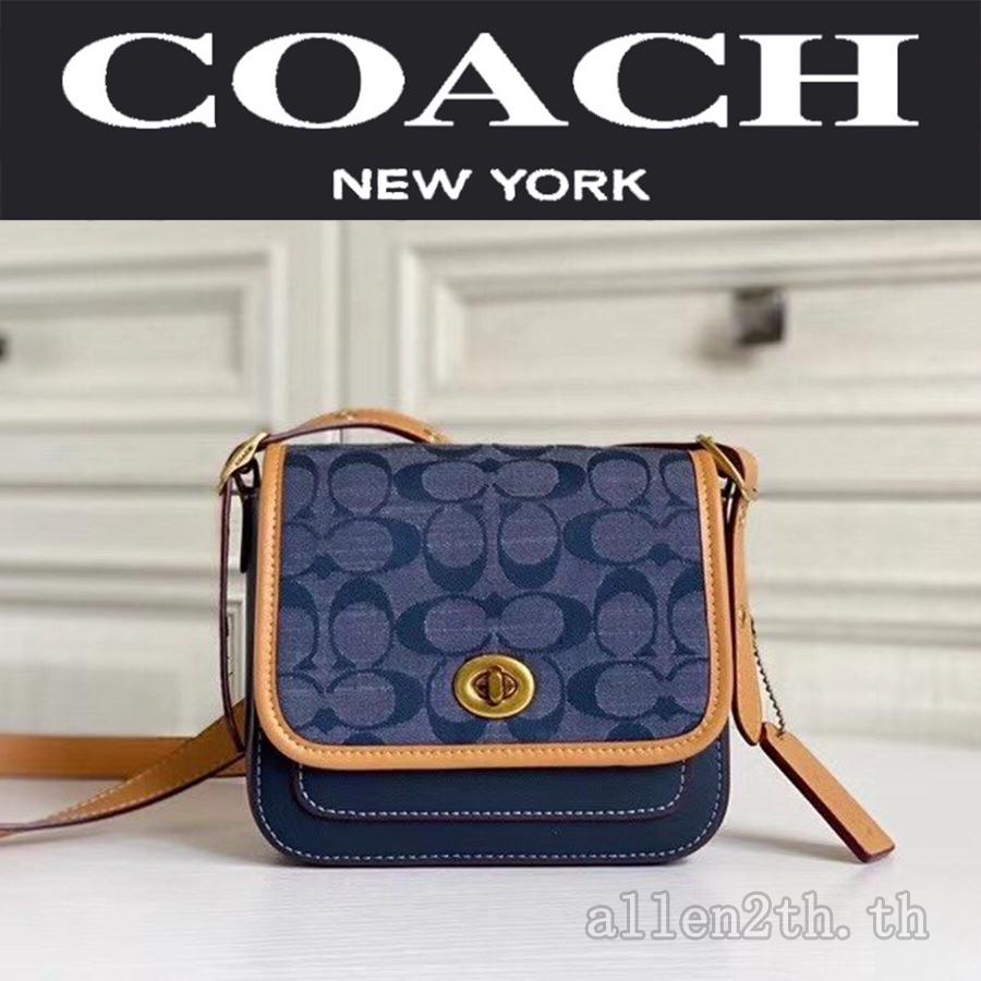 bag Coach แท้ F3692 กระเป๋าสะพายข้างผู้หญิง / crossbody bag / กระเป๋าforever young