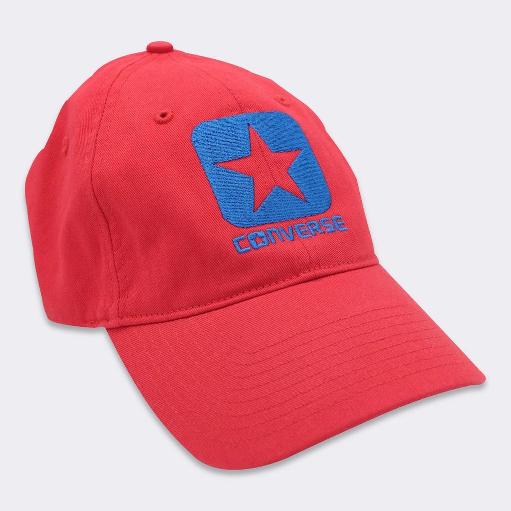 941854f9312b55 CONVERSE BOX STAR CAP หมวกแก๊ปคอนเวิร์ส ↘ประหยัด 33%