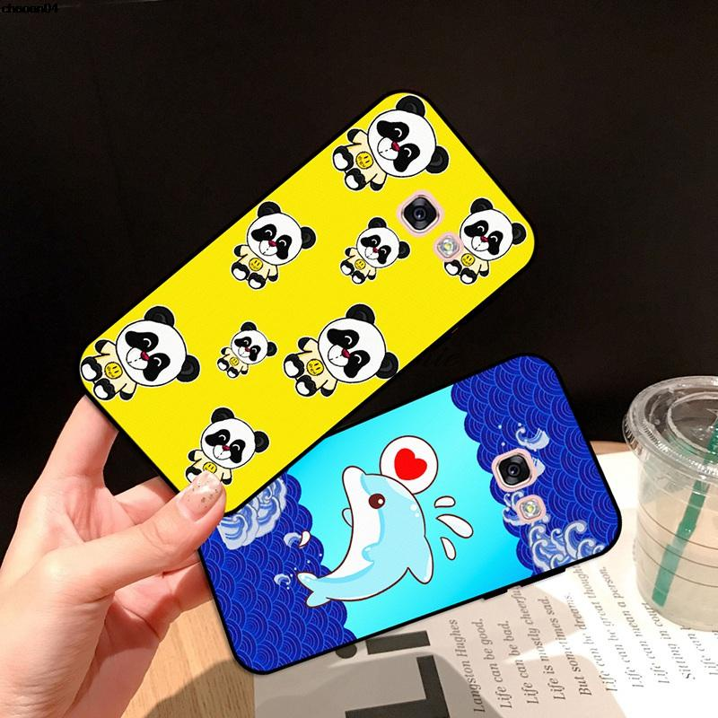 Samsung A3 A5 A6 A7 A8 A9 Pro Star Plus 2015 2016 2017 2018 GSZT Pattern-3 Silicon Case Cover