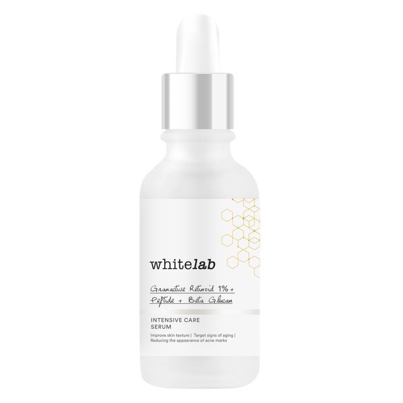 Whitelab เซรั่มบํารุงผิวหน้า 1% + Peptide + Beta Glucan