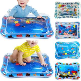 Kids Baby Water Play Mat Inflatable Safe Toys Novelty Tummy