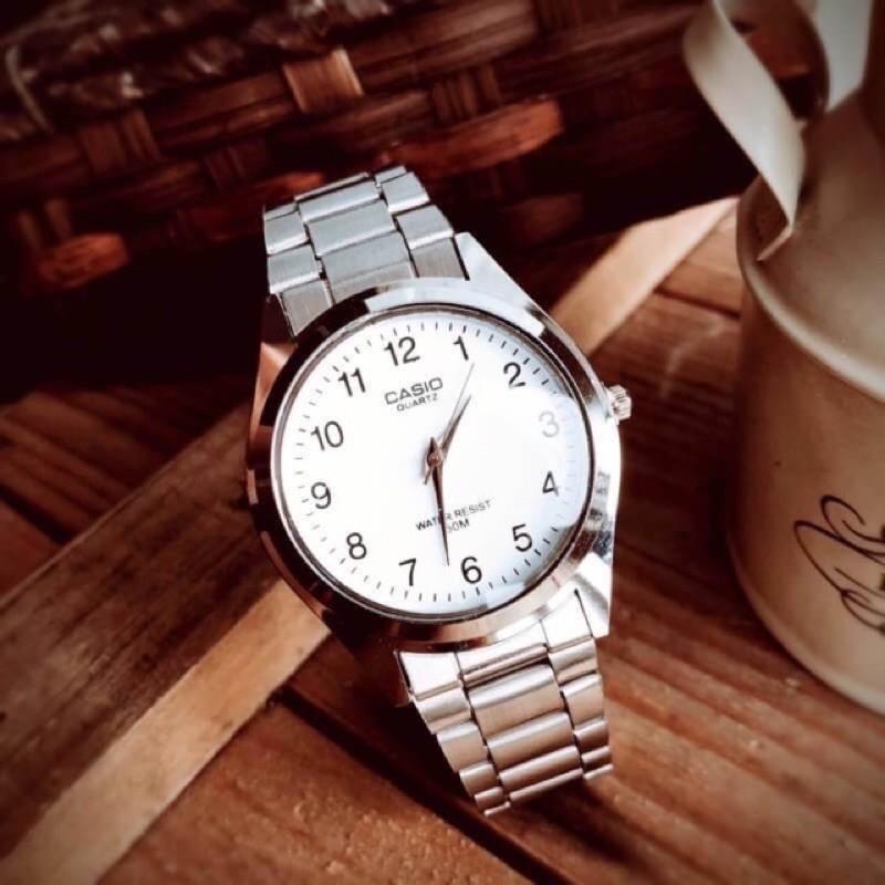 นาฬิกาCasio สายสแตนเลส