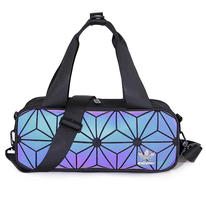 Adidas Issey Miyake Clover Handbag fashion woman Single shoulder package Geometric Lingge Laser packet outdoor Sling Bag