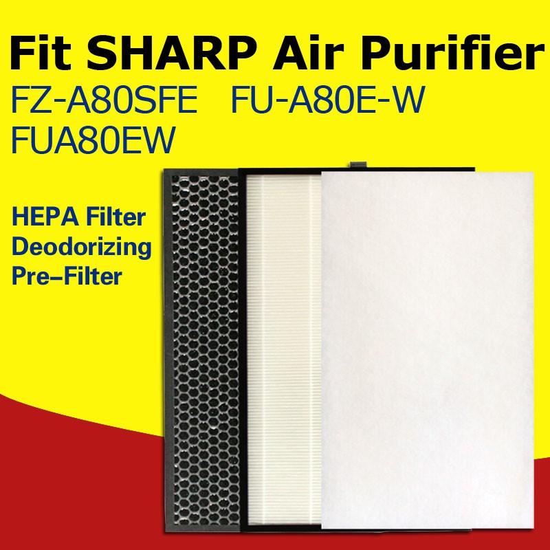 ฟิลเตอร์กรองอากาศ Sharp Fua80ew Fz - A 80sfe & Deodorizing Fu - A 80e - Wza 80sfe