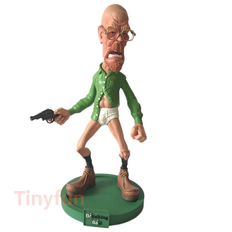 ㍿Garage-Kit Action-Figure BAD-WALTER Breaking White Painted Resin 1/6-Scale Tinyfun Toy