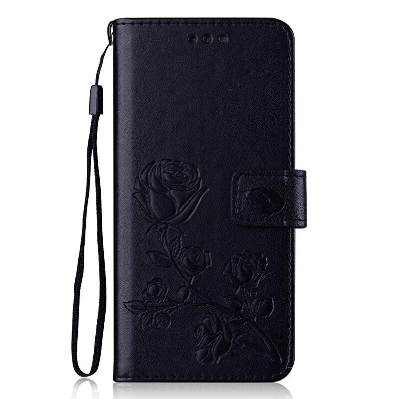 เคสโทรศัพท์มือถือหนังลายดอกไม้ 3 D สําหรับ Huawei Y 3 Y 3 2017 Cro - L 22 Cro - U00