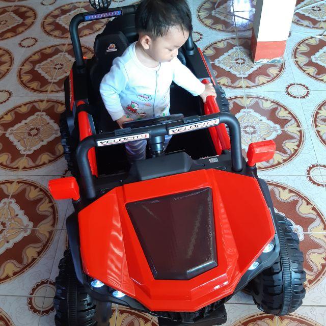 รถแบตเตอรี่ รับน้ำหนักได้50กิโลเด็กเล็กเด็กใหญ่ก็เล่นได้