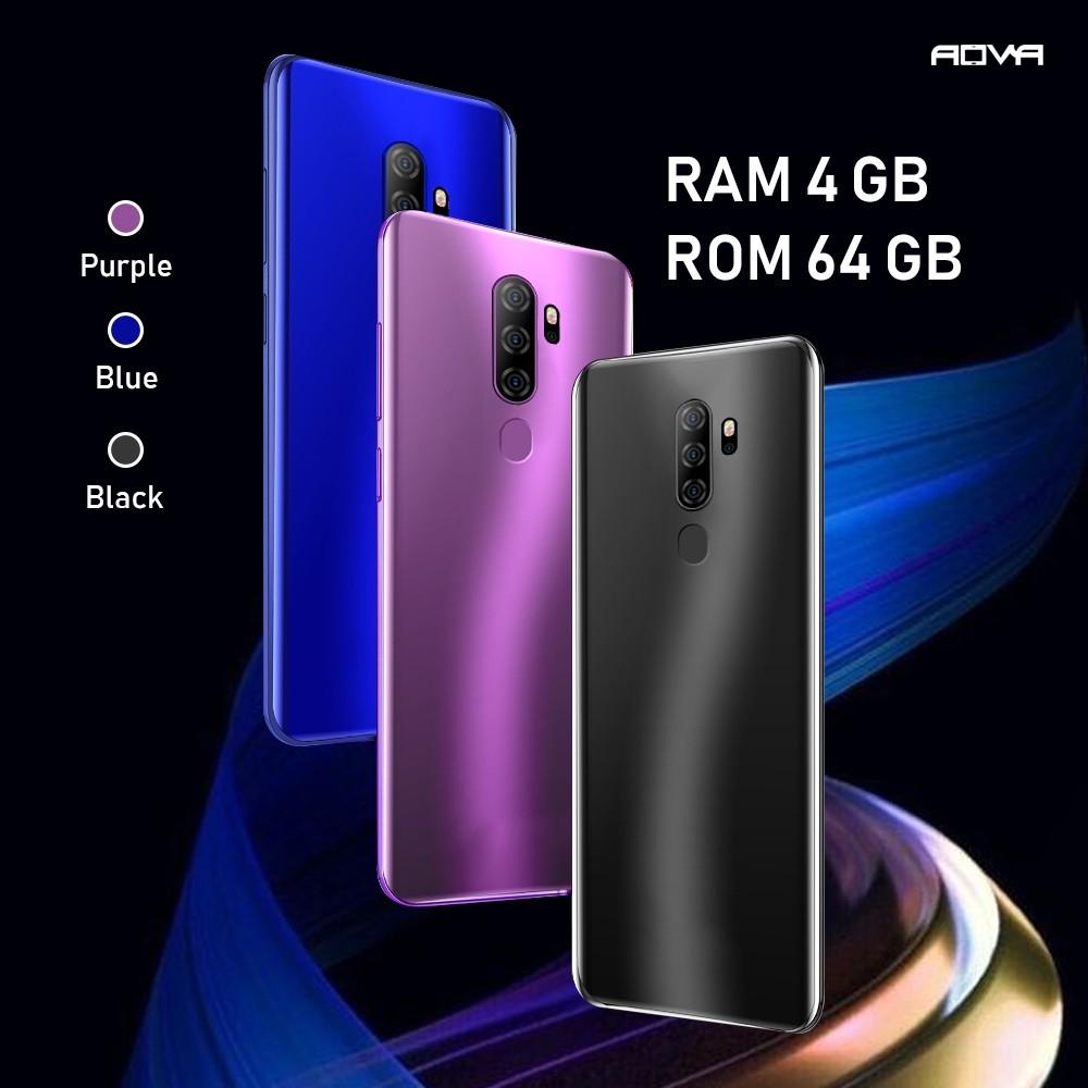 "AOVA A9 2020 สมาร์ทโฟนรุ่นใหม่จอใหญ่ 6.8 "" Ram4 Rom64 GB ประกันศูนย์ไทย 1 ปี รองรับซิม 4G ใส่ 2 ซิมไม่ล็อคเครือข่าย"