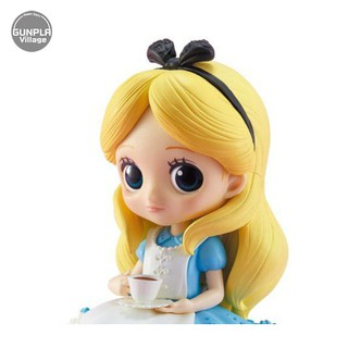 Review Banpresto Q Posket Sugirly Disney Characters : Alice (A:Normal Color Ver) 4983164356014 (Figure)