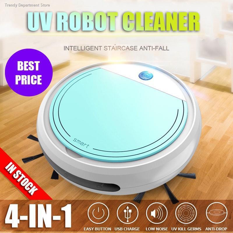 ✨ข้อเสนอพิเศษ◙หุ่นยนต์ดูดฝุ่นถูพื้น หุ่นยนต์ดูดฝุ่น และถูพื้นแบบแท็งค์น้ำ หุ่นยนต์ถูพื้นอัตโนมัติ ทำความสะอาด หุ่นย