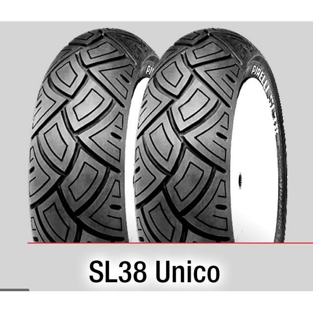 Pneumatici Pirelli SL38 UNICO 110//70-11 45L TL Anteriore//Posteriore SCOOTER STANDARD    gomme moto e scooter