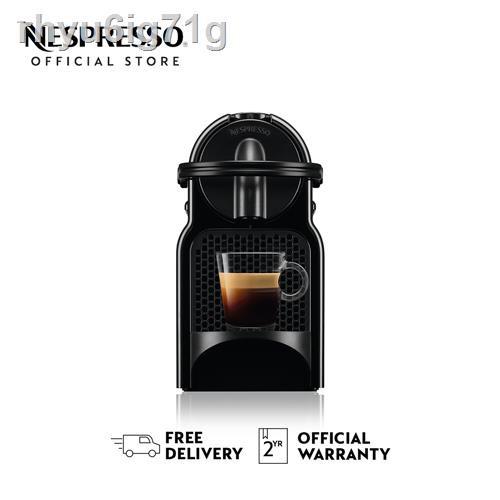 เครื่องทำกาแฟ●♗Nespresso เครื่องชงกาแฟ รุ่น Inissia D Range สีดำ