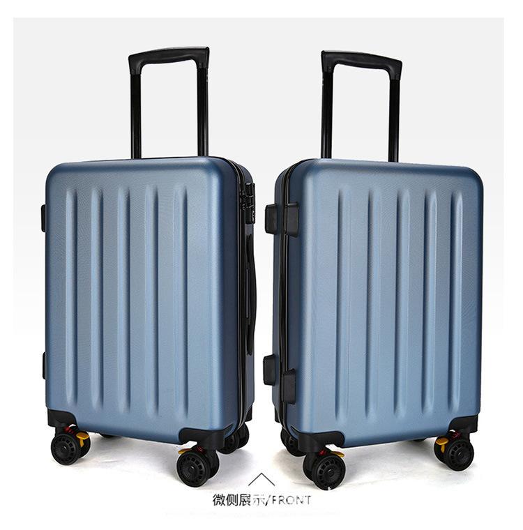 ข้าวฟ่างคล้ายกับรถเข็นคลาสสิก abs+pcกระเป๋าเดินทาง ท่องเที่ยวเดินทางกระเป๋า20-กระเป๋าเดินทางโครงบอร์ดขนาดนิ้ว24-นิ้ว