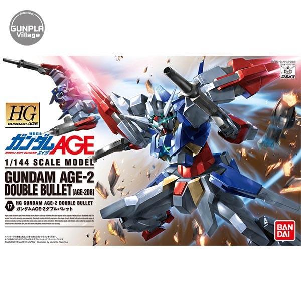 Bandai HG Gundam AGE-2 Double Bullet 4573102603685