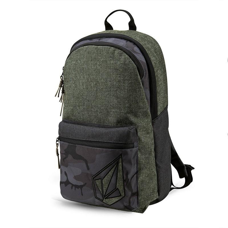 LP กระเป๋าเป้ผู้ชาย VOLCOM      MENS ACADEMY (VD6531650-MIL) เป้สะพายหลัง  กระเป๋าเป้ กระเป๋าเป้เดินทาง