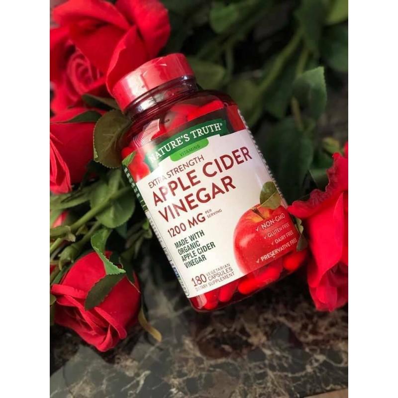 Apple Cider Vinegar (แอปเปิ้ลไซเดอร์)