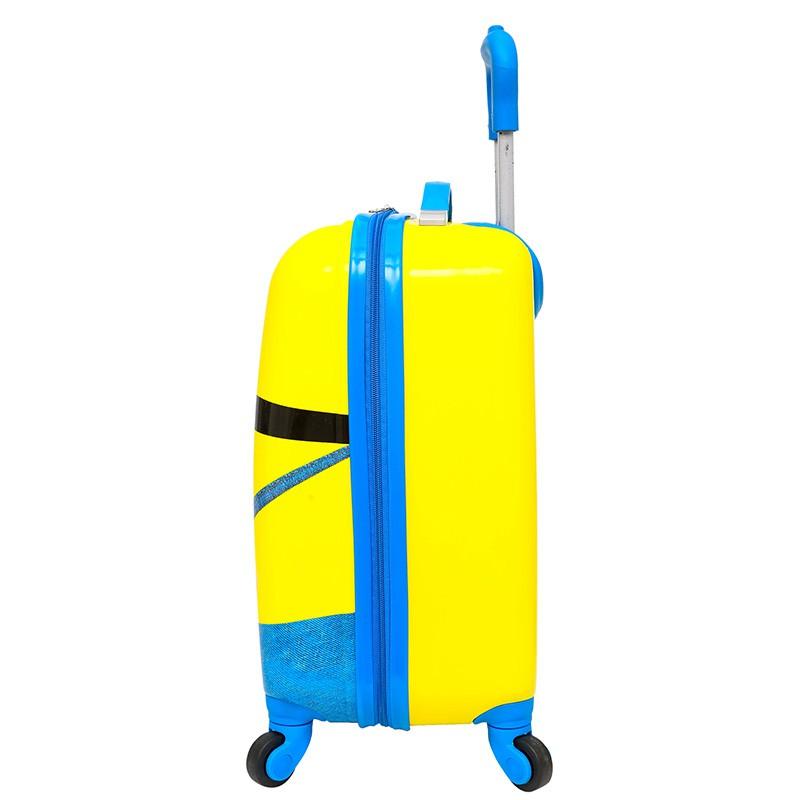 ღ✂กระเป๋าเดินทางเด็ก  กระเป๋ารถเข็นเดินทาง กระเป๋าเดินทางพกพา การ์ตูนเด็กรถเข็นเด็กกรณีนักเรียนชายเด็กกระเป๋าเดินทาง 18