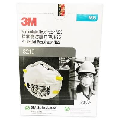หน้ากากอนามัย N95 แท้3M รุ่น8210