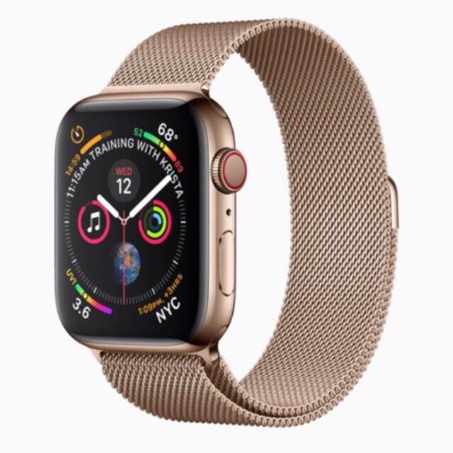 สาย applewatch แท้ สาย applewatch พร้อมส่ง สาย Apple watch สแตนเลส Series1-6