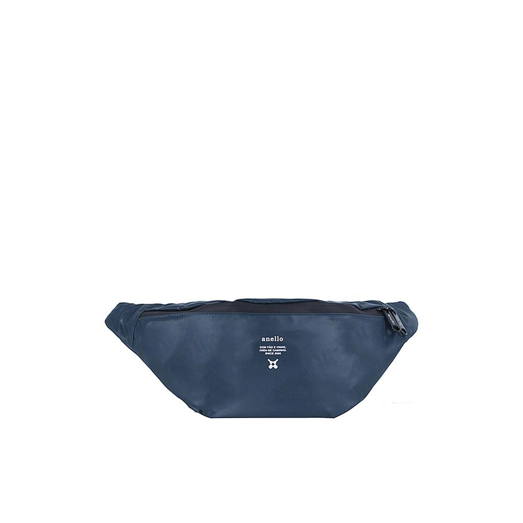 กระเป๋าคาดอก Water proof รุ่น Square OS-N056 สีกรมท่า กระเป๋า ผู้หญิง กระเป๋าคาดเอว ANELLO รุ่น Waterproof Series 4