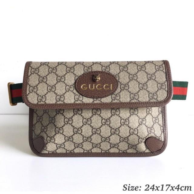 New】Gucci belt bag พร้อมส่ง ของแท้100%