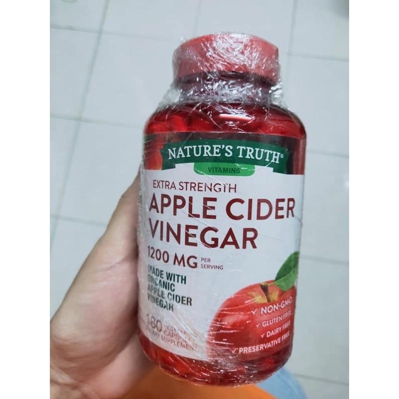 Apple Cider Vinegar 1200MG 180เม็ด