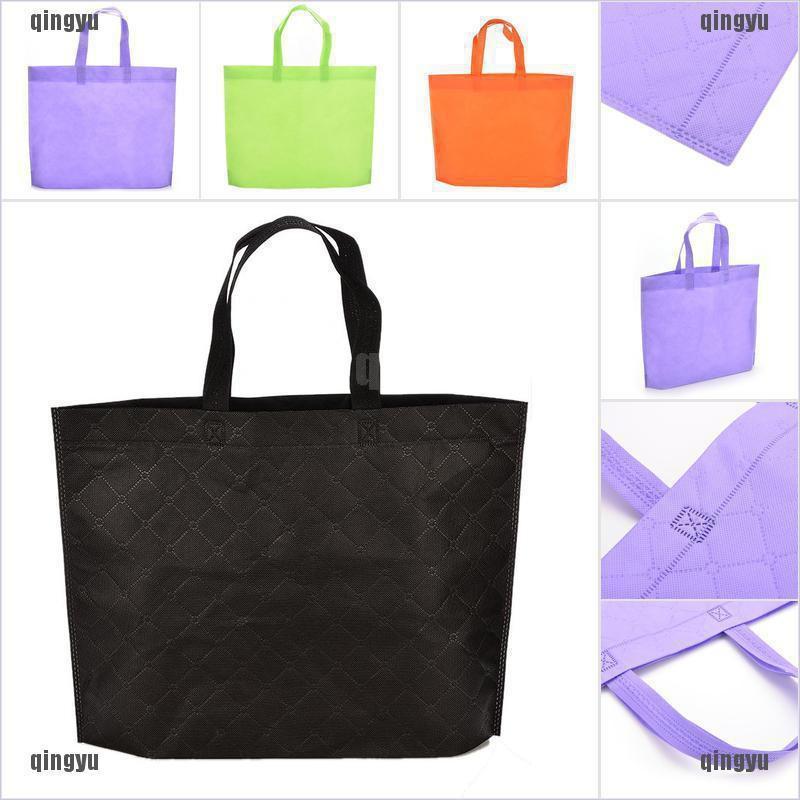 (cod) eco กระเป๋าสะพายไหล่กระเป๋าถือ tote เหมาะกับการพกพาเดินทาง