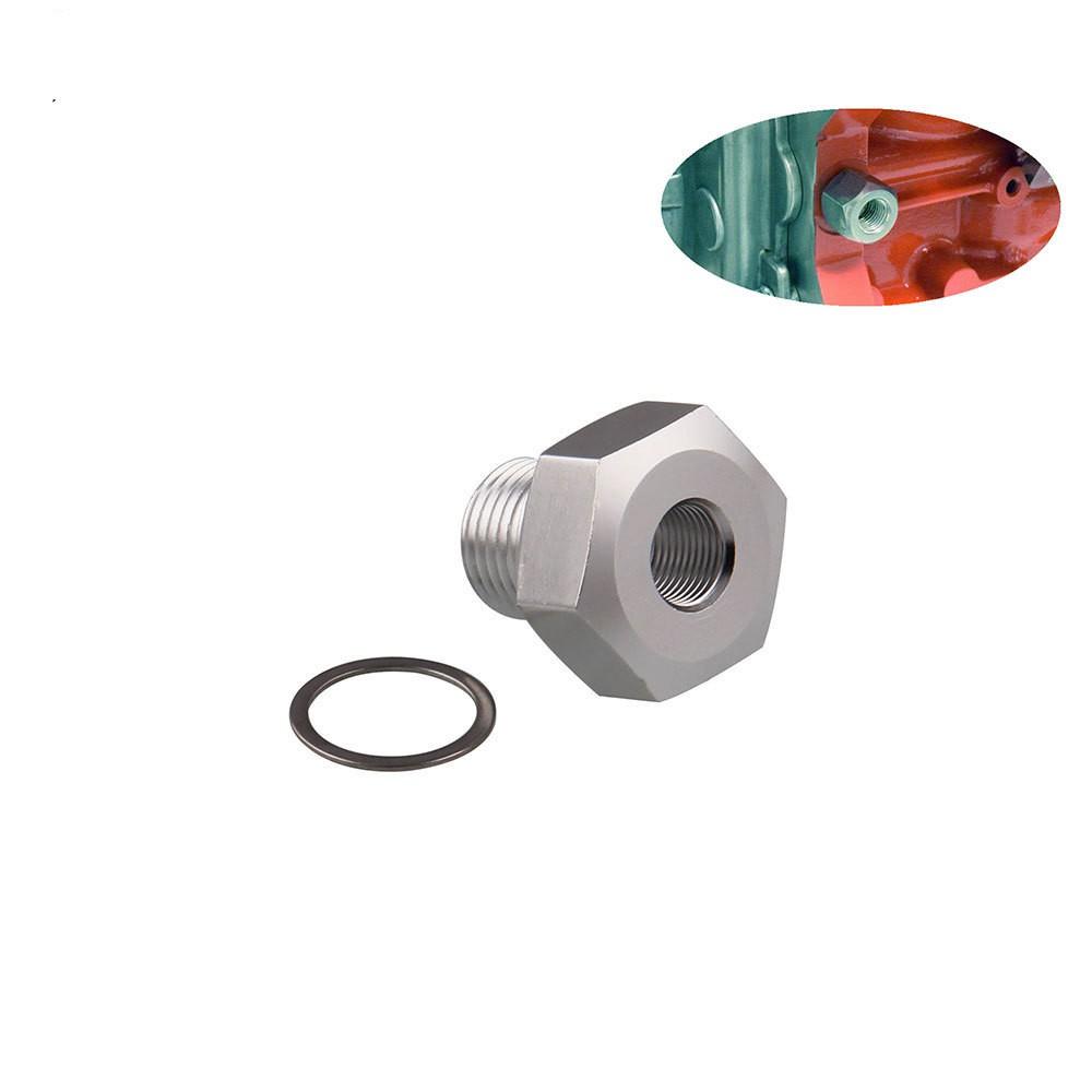 Oil Pressure Sensor Adapter LS Engine Swap Male M16x1.5 Female 1//8 NPT
