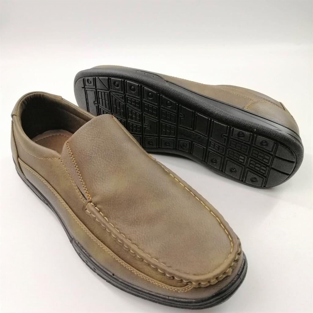 (851-7727) Bata รองเท้าหนังคัชชูผู้ชาย ยี่ห้อบาจา สีน้ำตาล เบอร์ 5-11 (38-46) รุ่น 851-7727