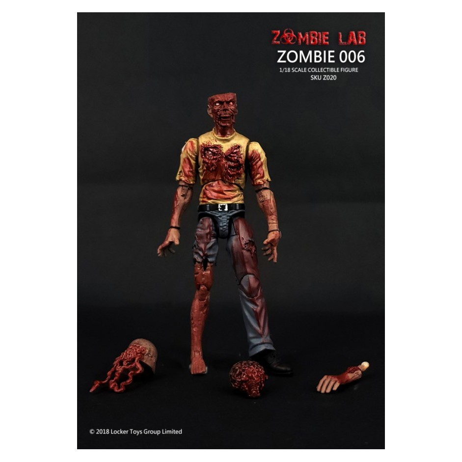 №❶1/18 Figure - Zombie Lab - Zombie 006 0uxm