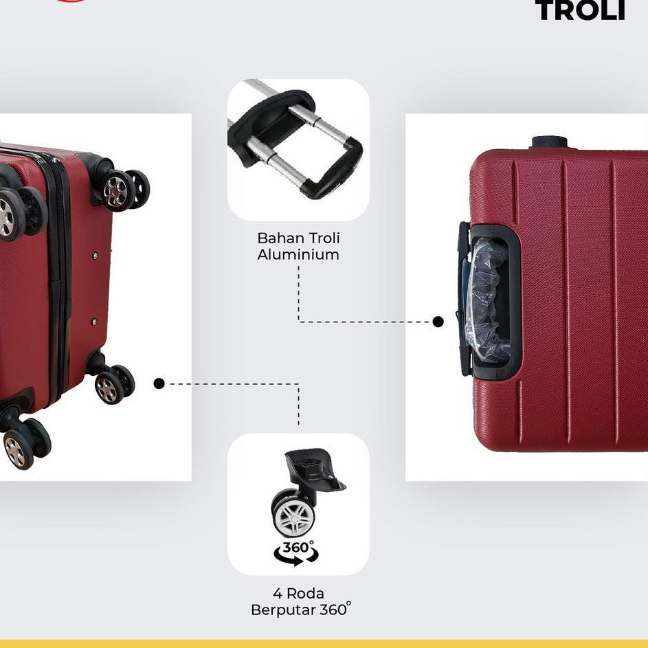 เวียนน่าโปโล 001 24 นิ้ว Abs ไฟเบอร์ / กระเป๋าเดินทาง / กระเป๋าเดินทาง / กระเป๋าเดินทาง 99