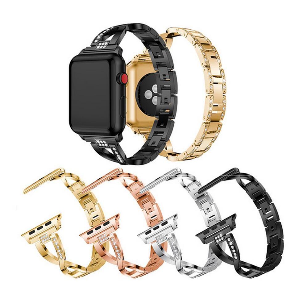 【ตามเรามา฿ 10】สายนาฬิกาข้อมือ Apple Watch Series 5 4 3 2 1 Band