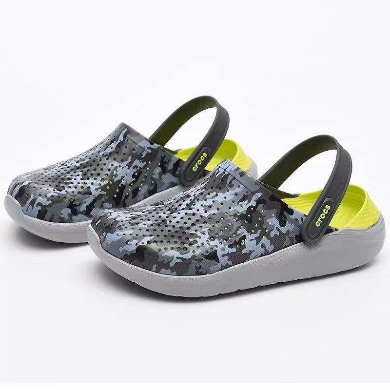 Crocs LiteRide สีเทา สีสันต่างๆ Clog แท้ หิ้วนอก ถูกกว่าshop  รองเท้าขนาดใหญ่