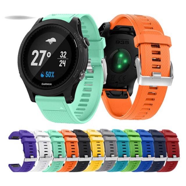 สาย applewatch สาย applewatch แท้ พร้อมส่ง!!! สาย Garmin FR 935, 945 , Garmin fenix 5,6, 5+ , 6+  , Approach s60 S62 สาม