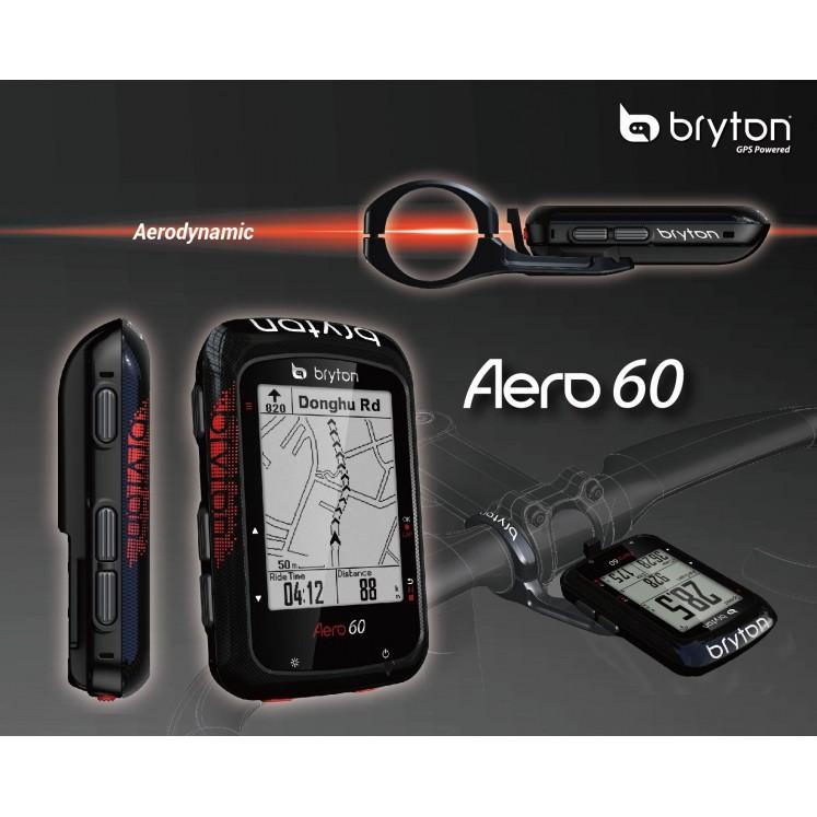 Bryton Aero 60 ไมล์ไมล์จักรยาน GPS