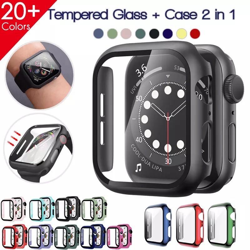 เคส applewatch พร้อมส่ง!! เคสกันรอย คลุมรอบหน้าจอ เคสสำหรับ Applewatch (ใส่ได้เลยโดยไม่ต้องติดฟิล์มกระจก)case สำหรับ App