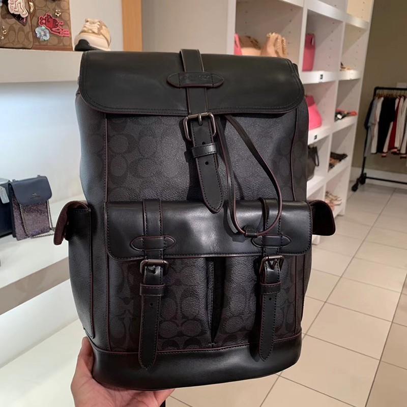 อเมริกันซื้อกระเป๋าผู้ชาย COACH / ใหม่กระเป๋าเป้สะพายหลังเดินทางปีนเขากระเป๋าคอมพิวเตอร์กระเป๋านักเรียน 36811