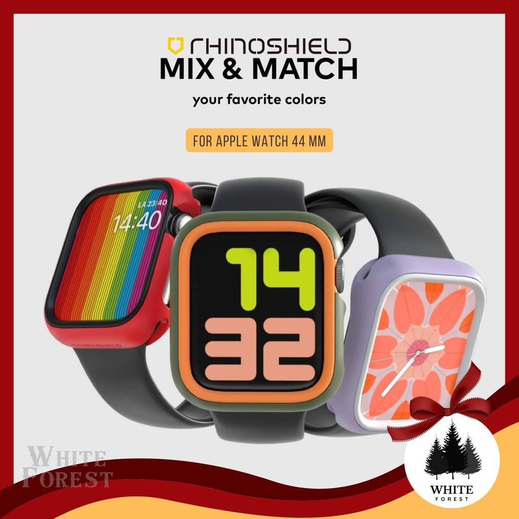 🇹🇭แท้พร้อมส่ง| เคสกันกระแทก เคสเปลี่ยนสี Rhinoshield CrashGuard NX Apple Watch Series SE / 6 / 5 / 4 รุ่น 44 mm