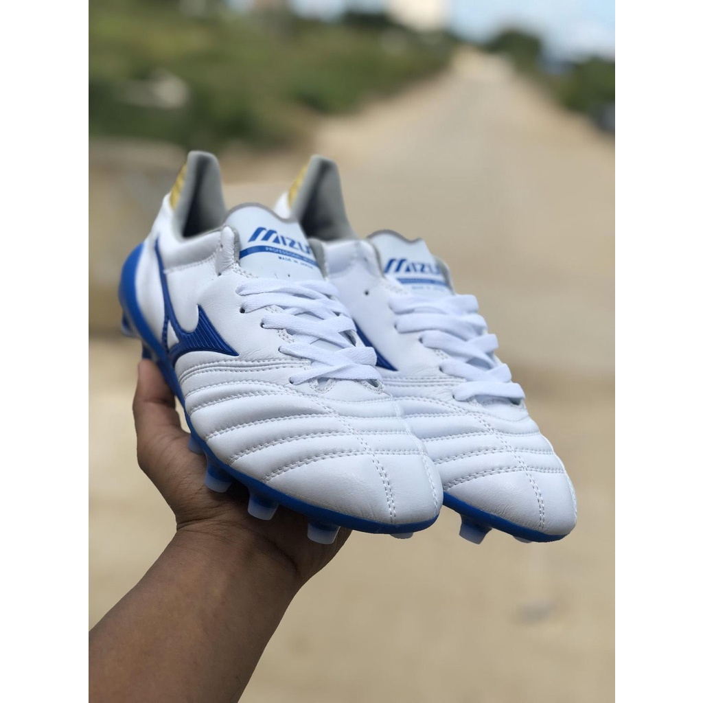 dl63 รองเท้าฟุตบอล รองเท้าสตั๊ด รองเท้ากีฬา Mizuno Morelia Neo II