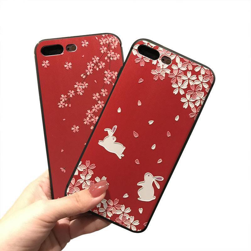 ☾iphone12 pro แอปเปิ้ล โทรศัพท์มือถือ 11promax Case 11 เคสโทรศัพท์มือถือ iPhone 7 Apple 7plus จีน