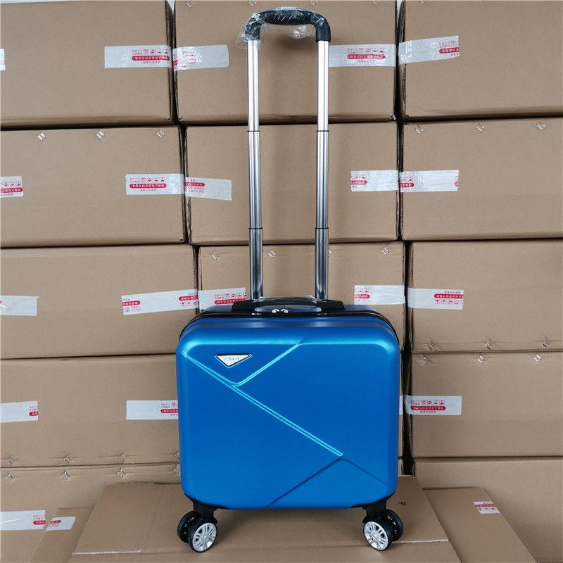 🔥14กระเป๋าเดินทางขนาดเล็กขนาดนิ้ว16-กระเป๋าเดินทางขนาดนิ้ว18กล่องใส่กระเป๋าเดินทางชายและหญิง กระเป๋าเดินทาง  hXjo