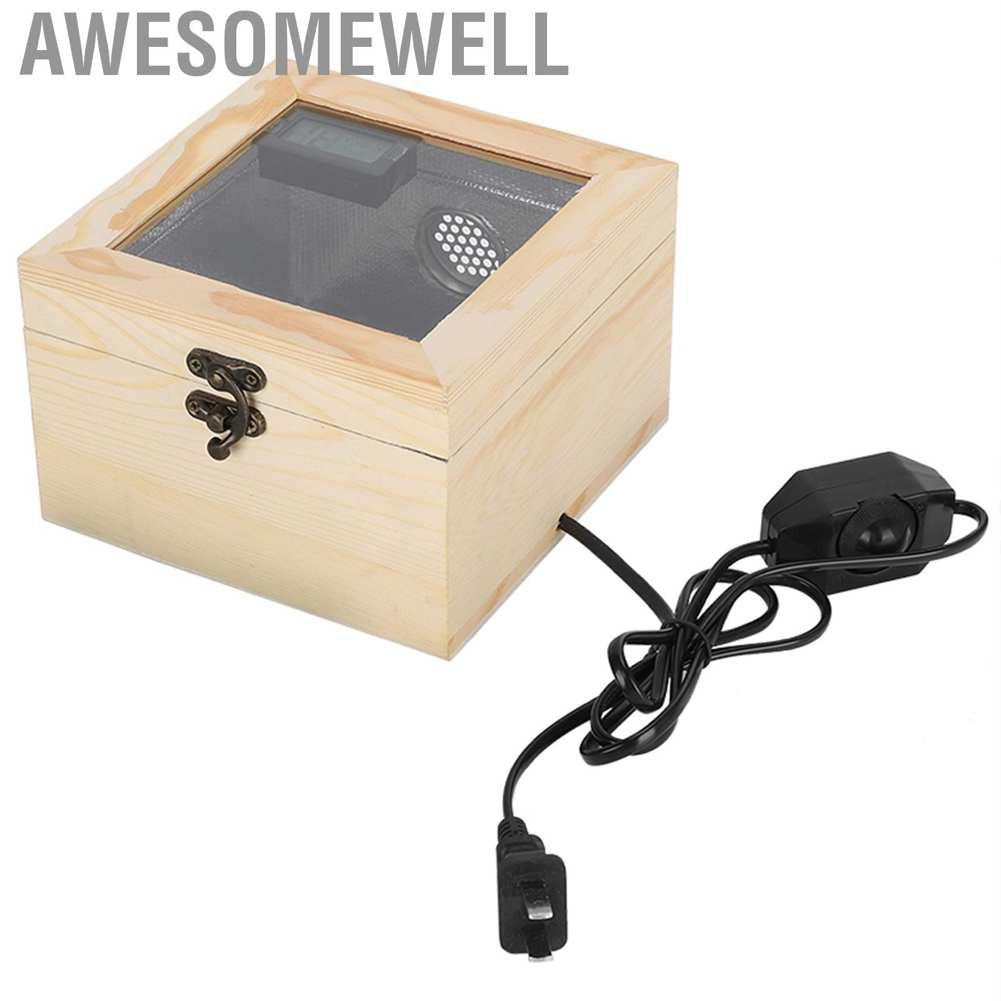 Awesomewell Cn Plug กล่องเพาะพันธุ์นกแก้วแบบพกพา