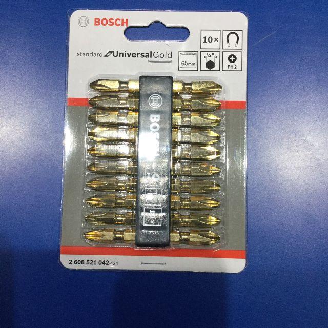 ฺBOSCH ดอกไขควง สีทอง (PH2 65 มม.) ราคาพิเศษ 360 บาท