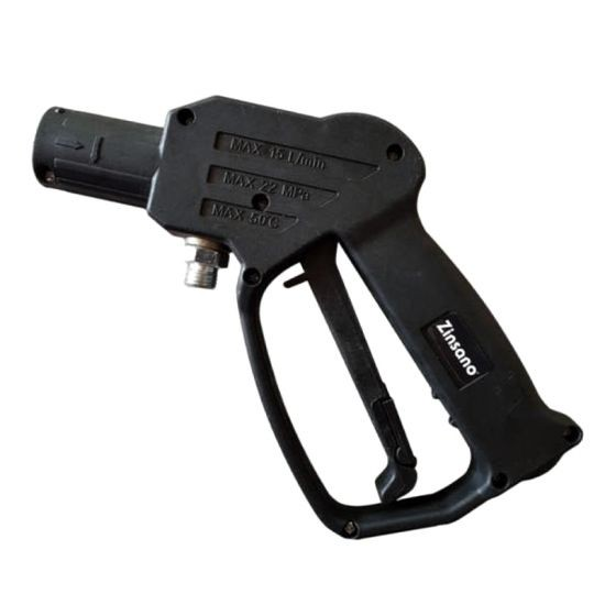 ZINSANO ปืนสั้น รุ่น BBZIGUN00024 สีดำ เครื่องฉีดน้ำ