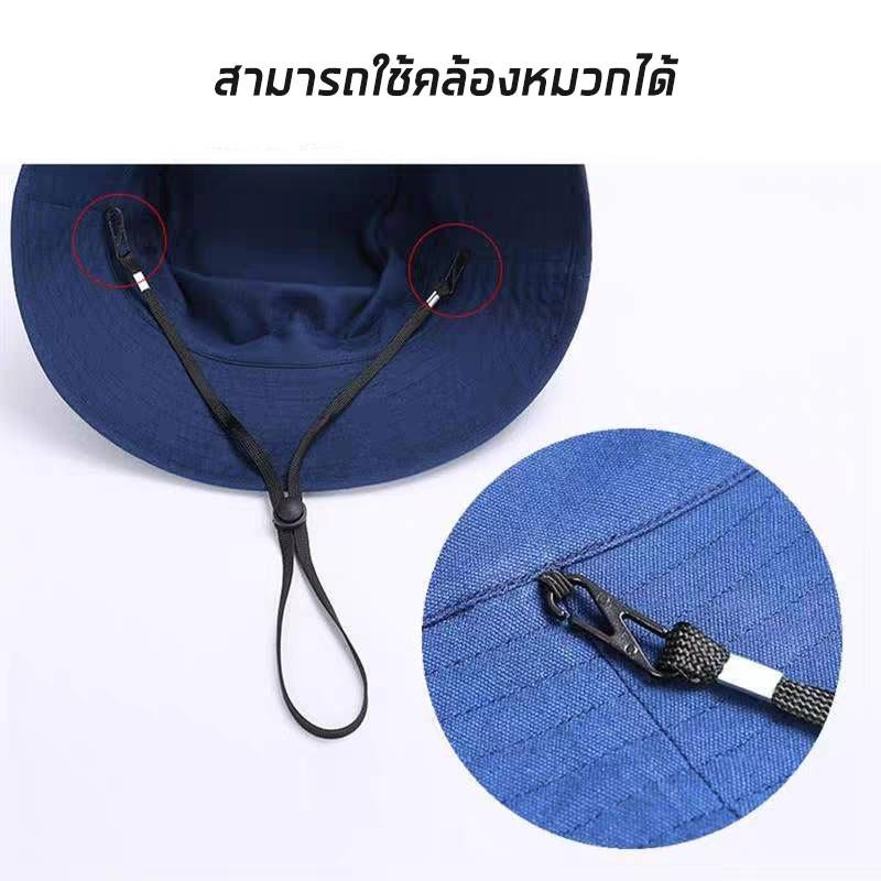 สายคล้องแมส สายคล้องหมวก ซักได้ ปรับระดับได้ **คละสี**