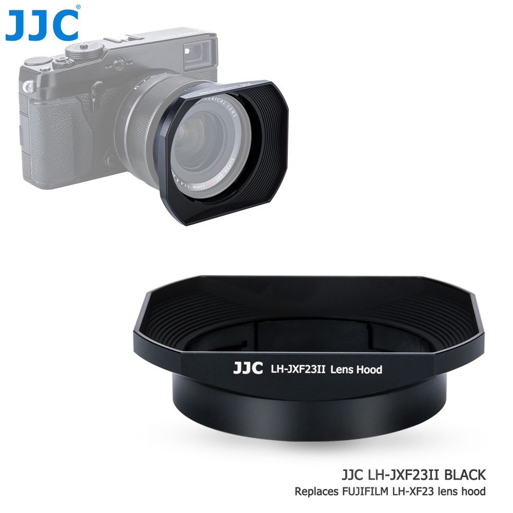 Jjc Lh - Jxf 23 Ii ฮู้ดกันแดดสําหรับ Fuji 23 mm F 1 . 4 56 มม. 1 . 2 Generation