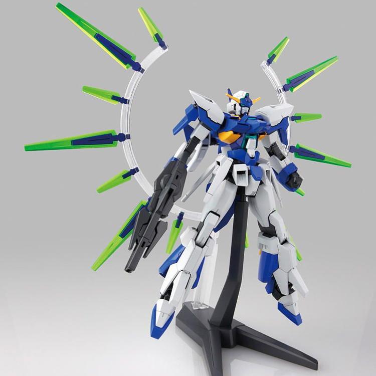 ょ♓แบบการก่อสร้างตึกรุ่น Bandai HG 1/144 AGE-27 GUNDAM AGE-FX กันดั้มรูปแบบสุดท้าย