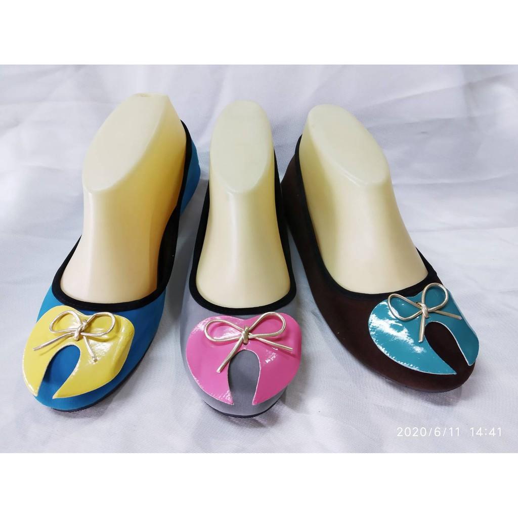 รองเท้าคัชชู  รองเท้าแบบสวม รองเท้าส้นแบน 3 สีสวยงามให้เลือก ราคาพิเศษ มากๆ